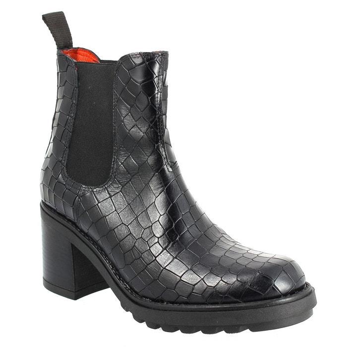 cd7bc1fddb71 Elizabeth Stuart ROZZA 318 NOIR - Chaussures Bottine Femme GH8HUA1Z -  destrainspourtous.fr