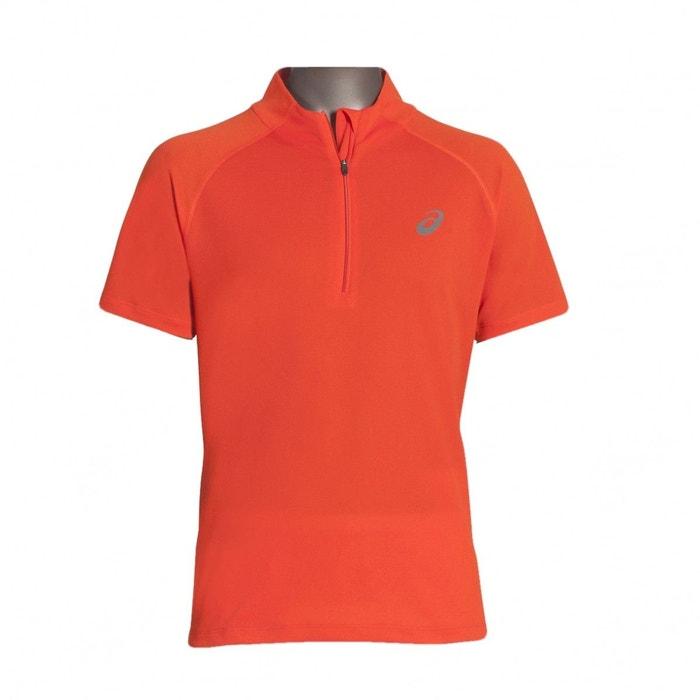 T Shirt Zip Running De Orange 12 Ss Race Top dWoCBxeQr
