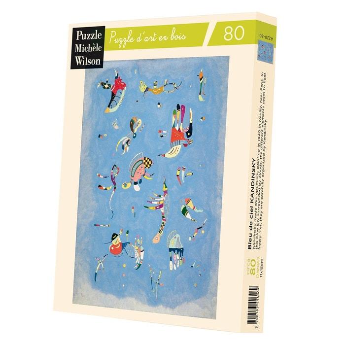 Puzzle d\'art en bois 80 pièces michèle wilson - kandinsky : bleu ...