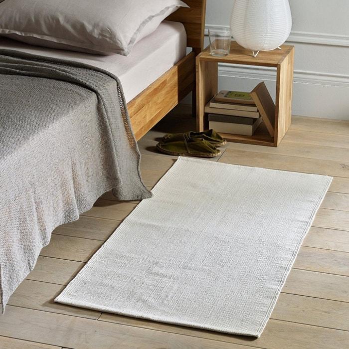 Alfombra de cama junkan blanco crema la redoute - La redoute alfombras ...