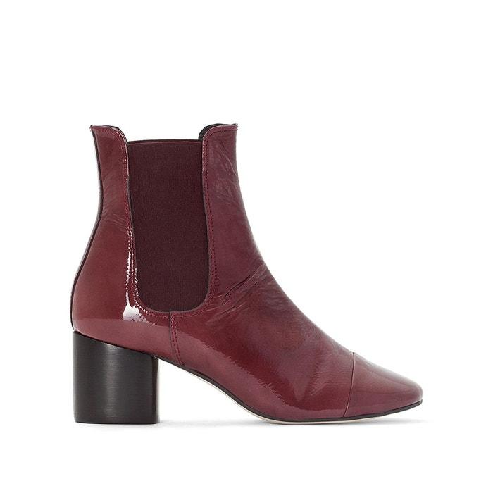 e5f9c303bac8bf Boots capucine rouge bordeaux Jonak | La Redoute