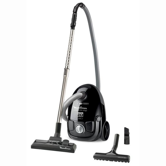 aspirateur mo5265pa avec sac compacteo ergo noir moulinex la redoute. Black Bedroom Furniture Sets. Home Design Ideas