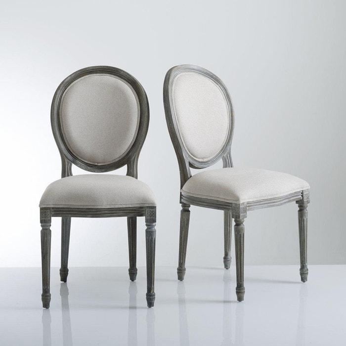 Chaise m daillon lot de 2 nottingham la redoute for Chaise de calvin