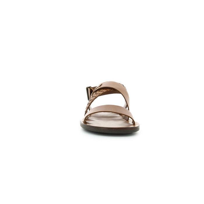 Sandales et nu-pieds cuir homme marveus camel Kickers