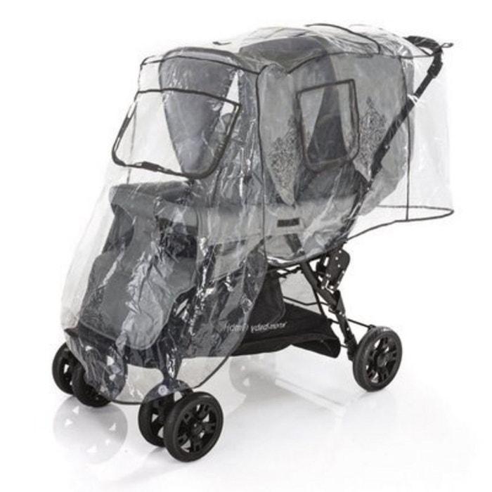 diago l 39 habillage pluie pour poussette double protections. Black Bedroom Furniture Sets. Home Design Ideas