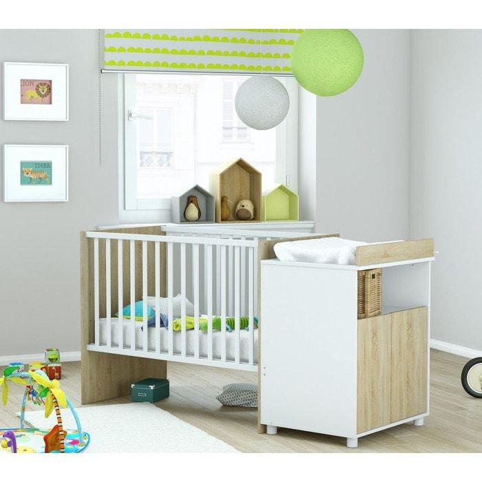 lit b b volutif en lit efant lt117 bois naturel terre de nuit la redoute. Black Bedroom Furniture Sets. Home Design Ideas