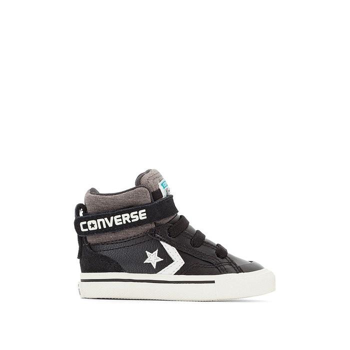 b912c1a25428 Baskets montantes pro blaze strap stretch noir Converse