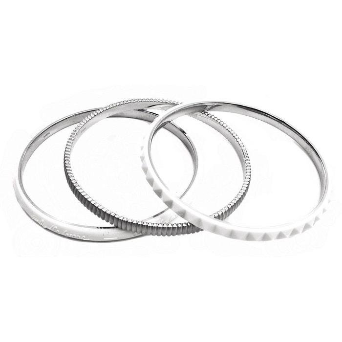 Bracelet femme blanc /argent Diesel | La Redoute Ebay En Ligne 100% Authentique Prix Pas Cher h9vU2