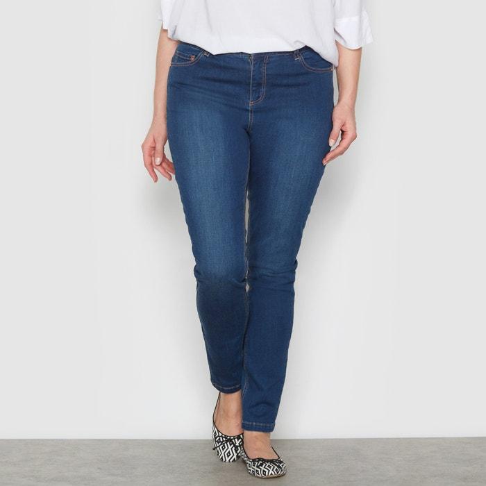 "Image Slim-Fit Stretch Jeans, Length 32"" CASTALUNA"