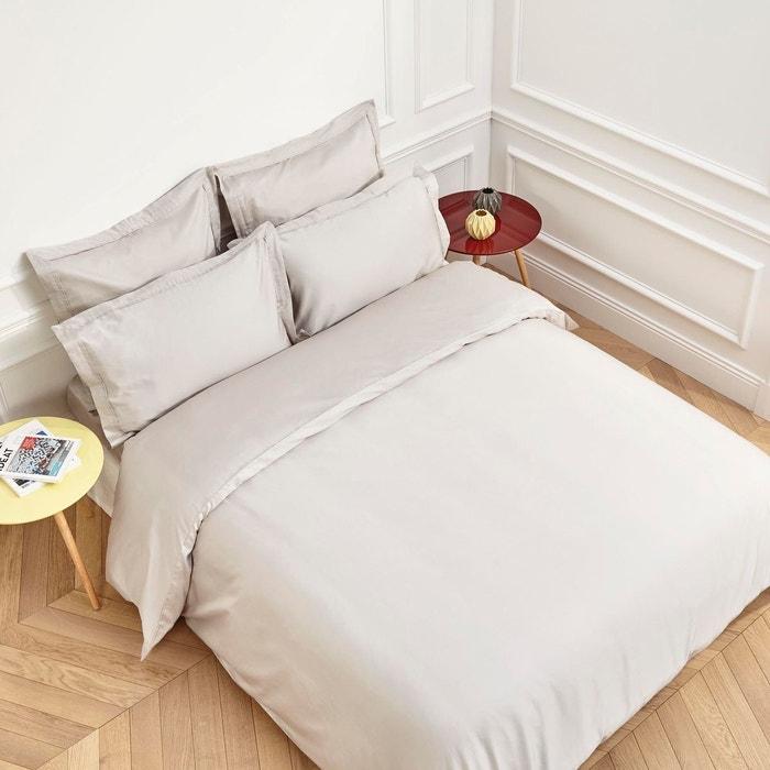 housse de couette coton aurore beige clair beige clair madura la redoute. Black Bedroom Furniture Sets. Home Design Ideas