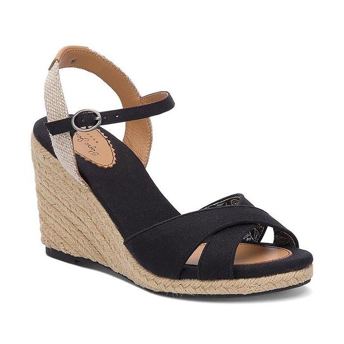 Pepe jeans Shark Basic Beige - Chaussures Sandale Femme