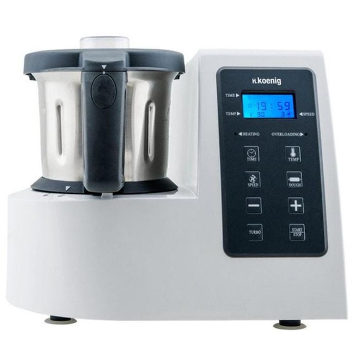 Hkm1028 robot culinaire multifonctions cuisson et for Robot cuisine cuisson