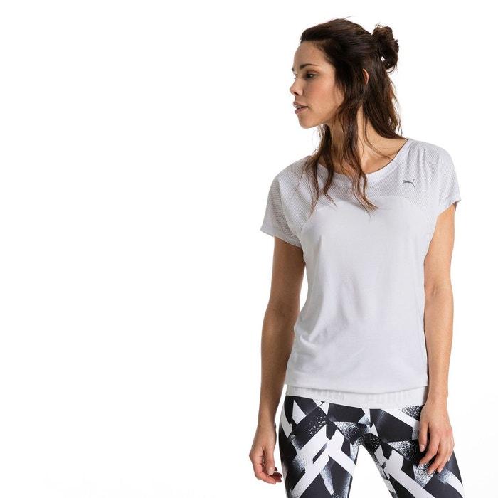 t shirt active transition pour femme puma white puma la redoute. Black Bedroom Furniture Sets. Home Design Ideas