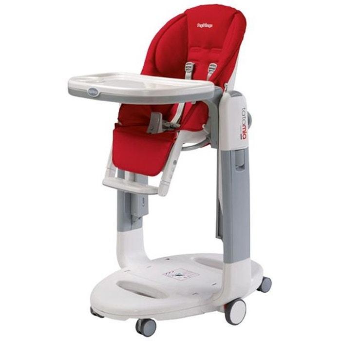 chaise haute transat balancelle tatamia fragola peg perego rouge peg perego la redoute. Black Bedroom Furniture Sets. Home Design Ideas