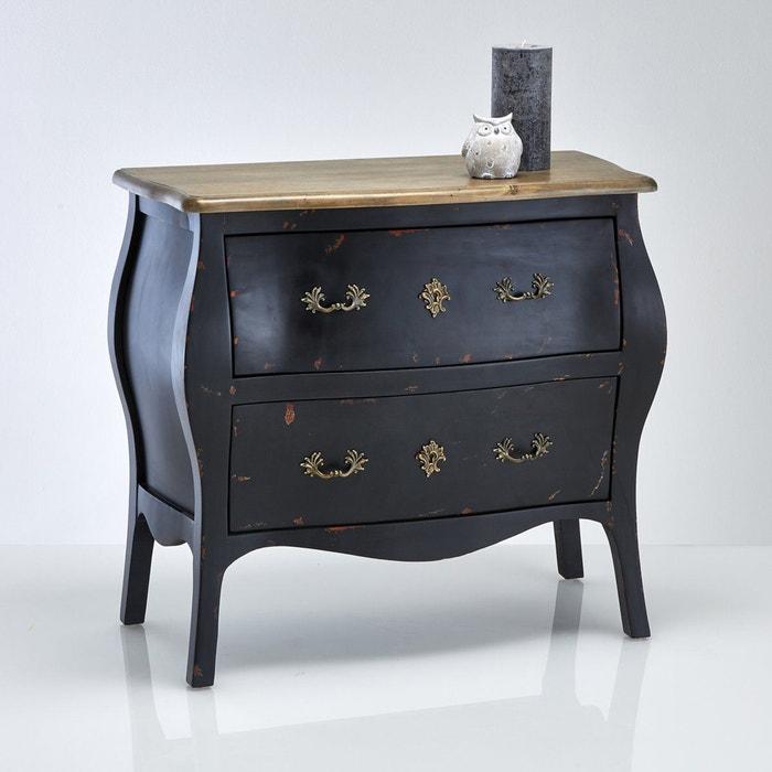 Commode lipstick noir la redoute interieurs la redoute - La redoute fr meubles ...