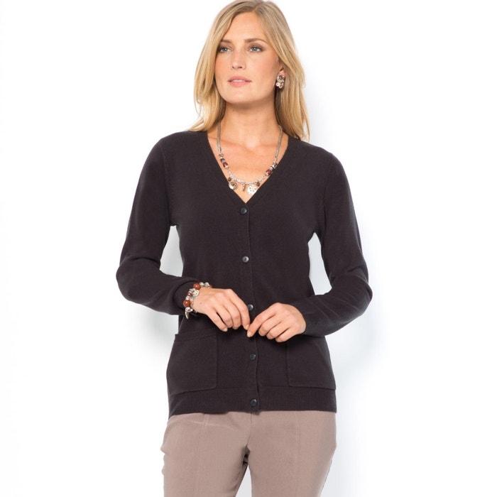 Image Sweter rozpinany z długimi rękawami z akrylu ANNE WEYBURN