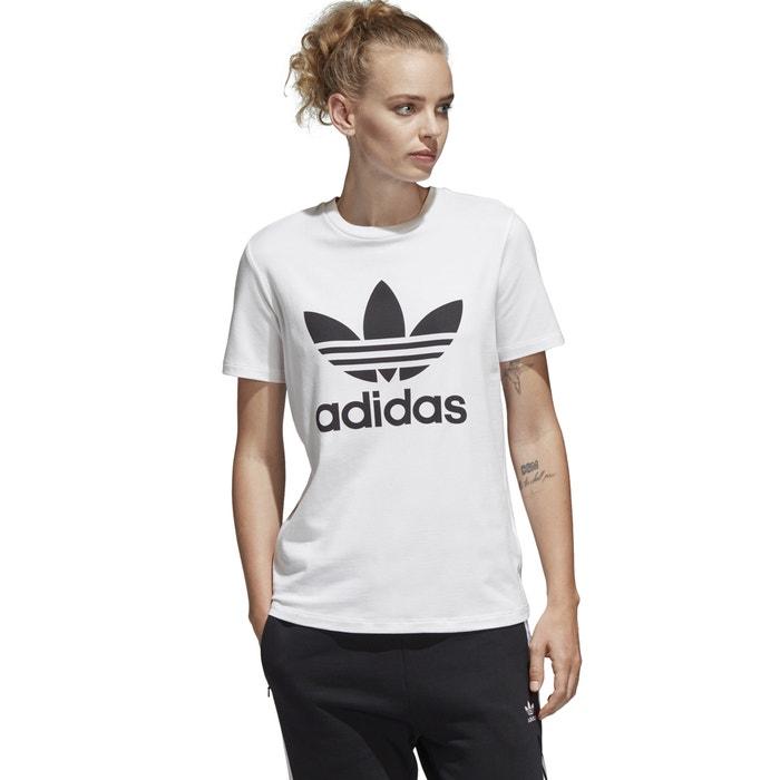 95a6c9d7 Camiseta originals trefoil tee blanco Adidas Originals | La Redoute