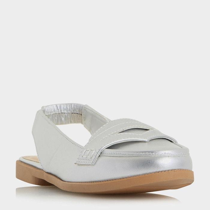 Mocassins à bride arrière - glyndas  silver synthétique Head Over Heels By Dune  La Redoute
