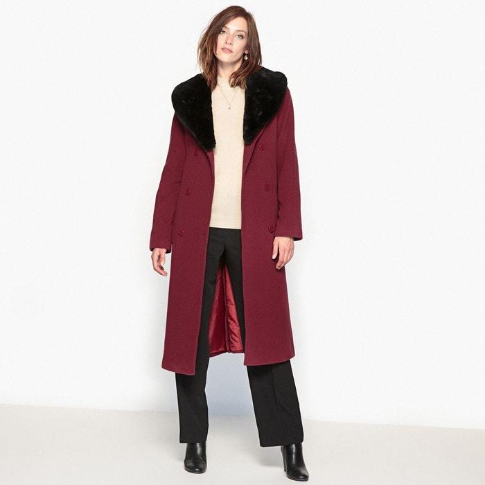 Manteau laine/cachemire, long 110 cm ANNE WEYBURN