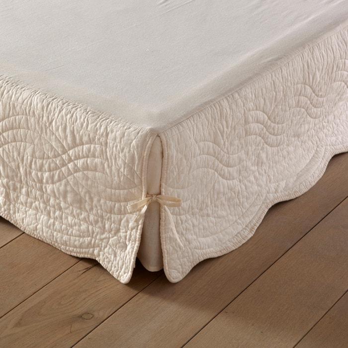 Funda para somier acolchada con parte superior de tela de algodón  La Redoute Interieurs image 0