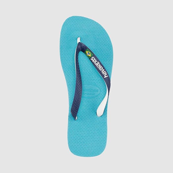Tongs hav. brazil mix bleu ciel Havaianas