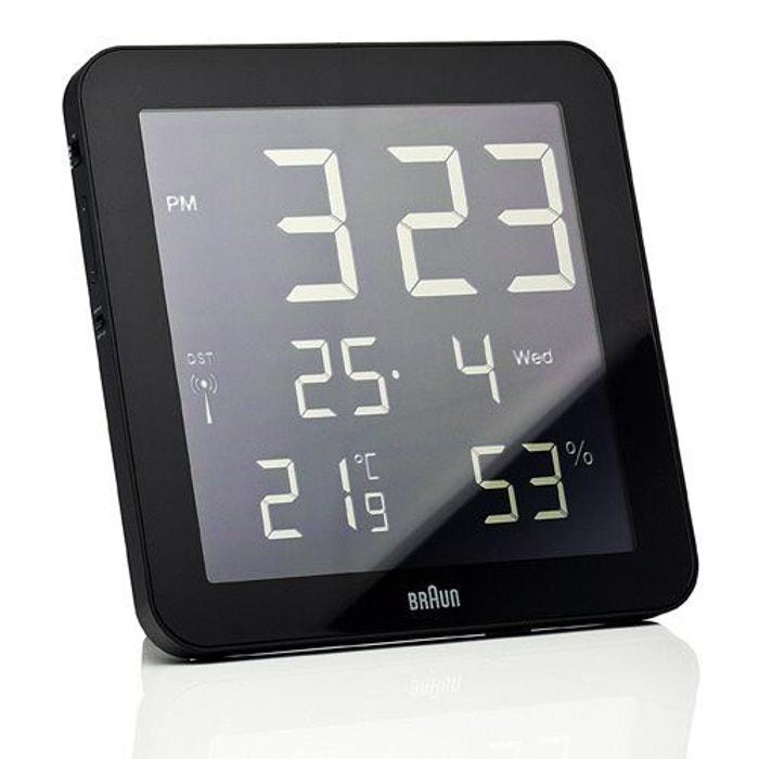 Braun horloge digitale- noir noir Braun | La Redoute