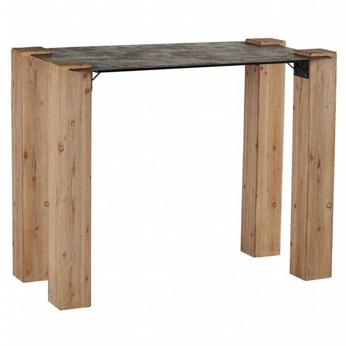 table haute industrielle nordique 140 actus m tal vieilli. Black Bedroom Furniture Sets. Home Design Ideas
