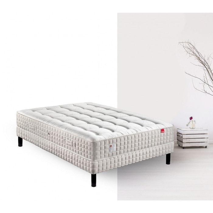 ensemble matelas bonsai et sommier blanc epeda la redoute. Black Bedroom Furniture Sets. Home Design Ideas