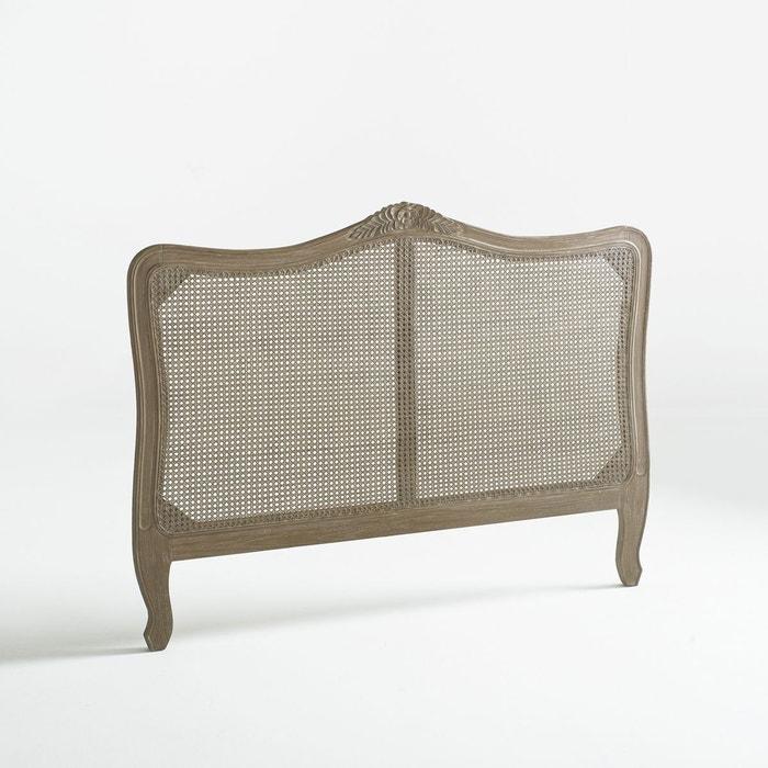 t te de lit en cannage de rotin sydia ch ne vieilli la redoute interieurs la redoute. Black Bedroom Furniture Sets. Home Design Ideas