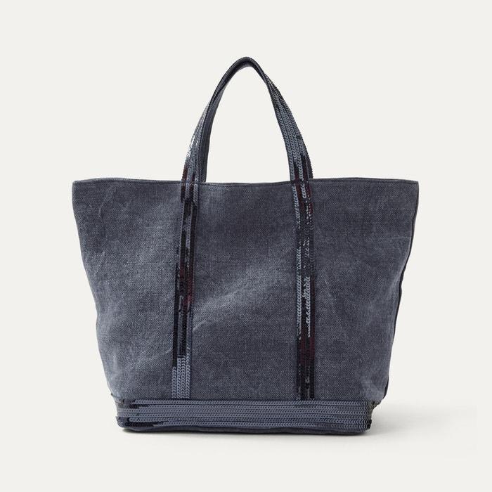 tasche cabas moyen denim jeansblau athe vanessa bruno la redoute. Black Bedroom Furniture Sets. Home Design Ideas