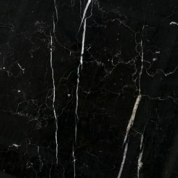 afbeelding Salontafel in zwart metaal en marmer,  Mahaut AM.PM.