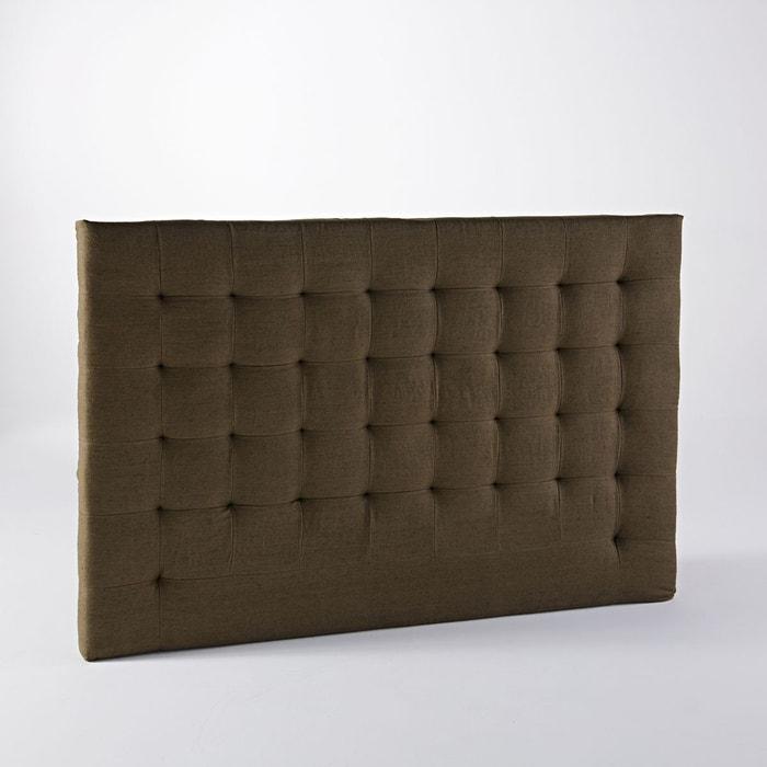 t te de lit capitonn e lin lav h120 cm selve am pm la redoute. Black Bedroom Furniture Sets. Home Design Ideas