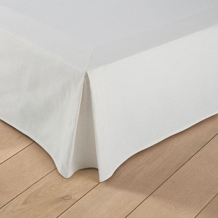 cache sommier en lin coton ta ma la redoute interieurs la redoute. Black Bedroom Furniture Sets. Home Design Ideas