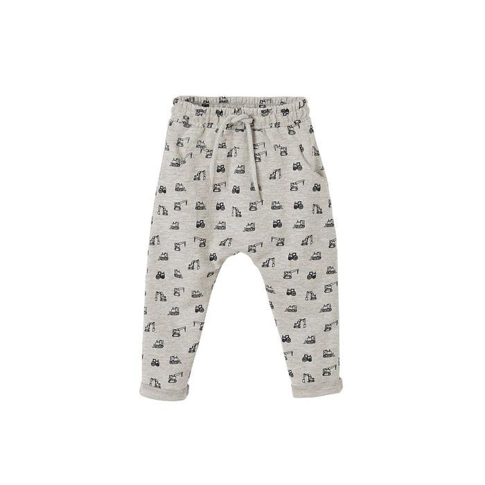 4189821bc54ba Pantalon molleton bébé garçon gris chiné Vertbaudet | La Redoute