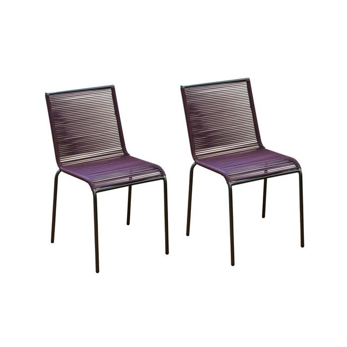 Chaise de jardin chacabuco lot de 2 rendez vous deco 1