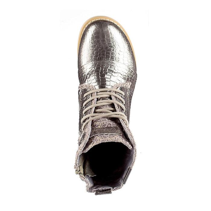 Boots à lacets sara cuivre Bunker