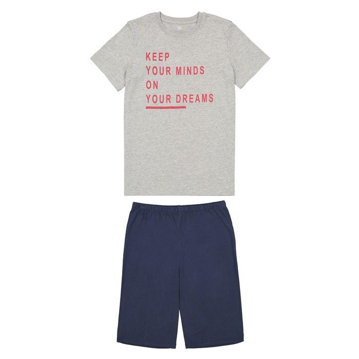 012c141be4 Pijama con short y mensaje