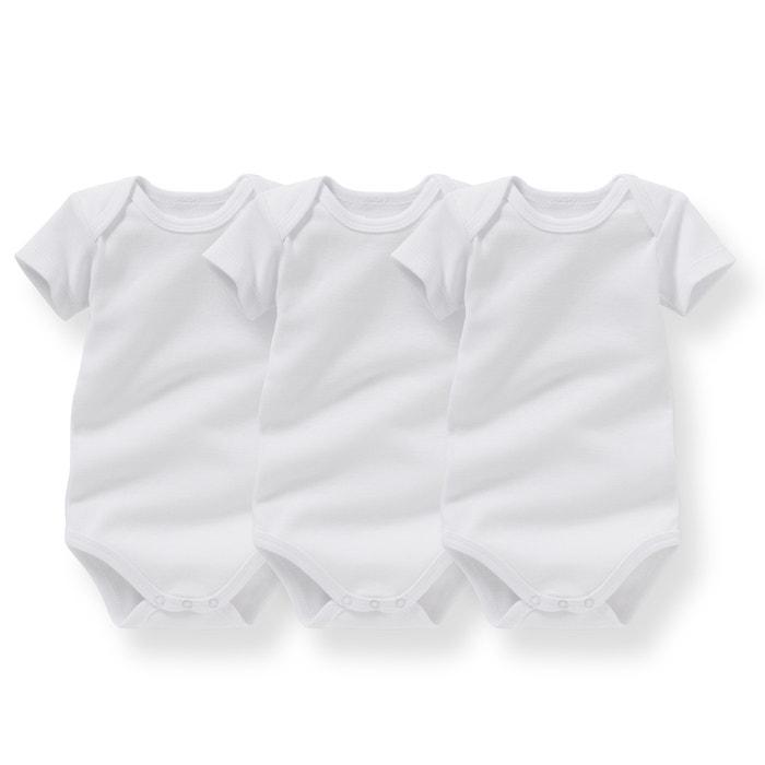 Image Body coton bio 0 mois - 3 ans (lot de 3) R essentiel