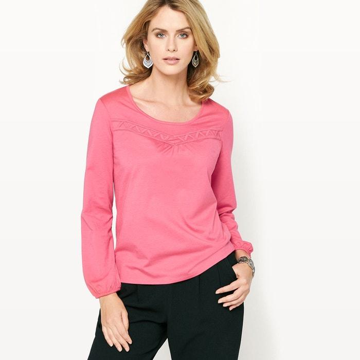 Image T-shirt in katoen & modal ANNE WEYBURN