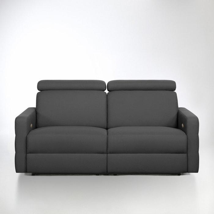 afbeelding Elektrische relax zetel in haflgeweven katoen, Hyriel La Redoute Interieurs