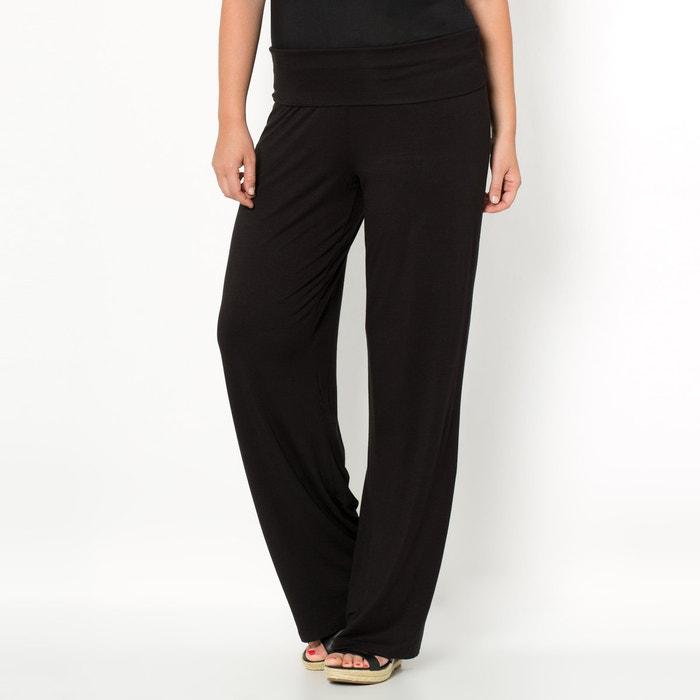 Image Pantalon loose, large en viscose CASTALUNA