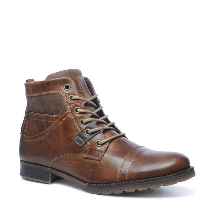 Boots à lacets marron Sacha