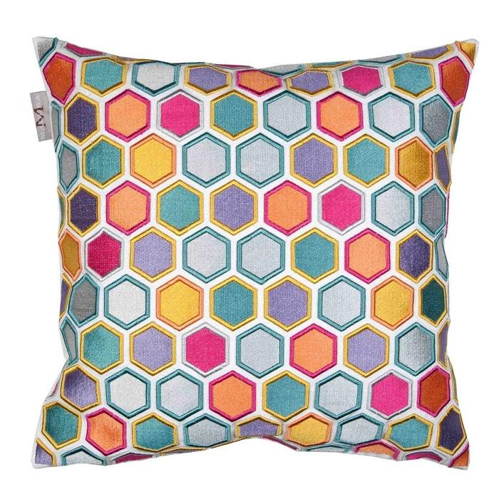 Enveloppe de coussin polyester honey Madura | La Redoute