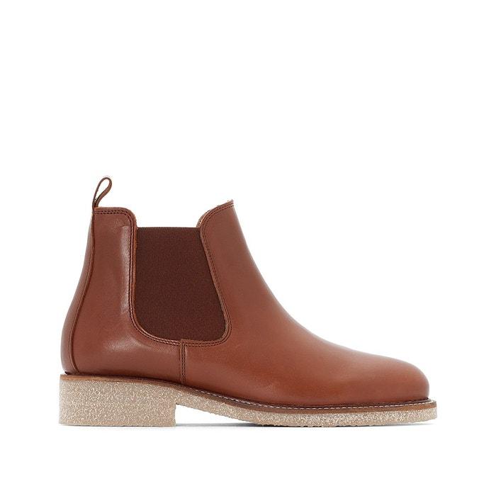 Boots crepe   cognac Bensimon   La Redoute