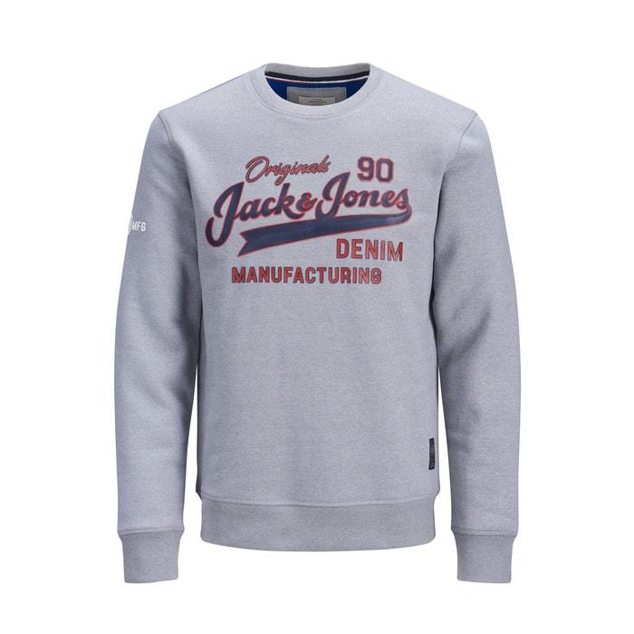 big sale 661f6 c5159 Pullover Jorlogan mit Aufdruck vorne, runder Ausschnitt