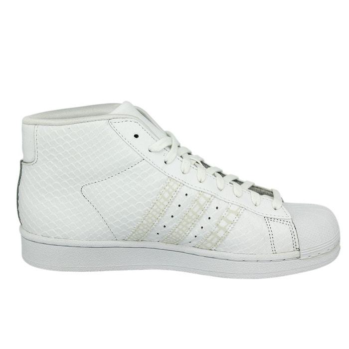 Adidas originals pro model chaussures mode sneakers unisex blanc blanc Adidas Originals
