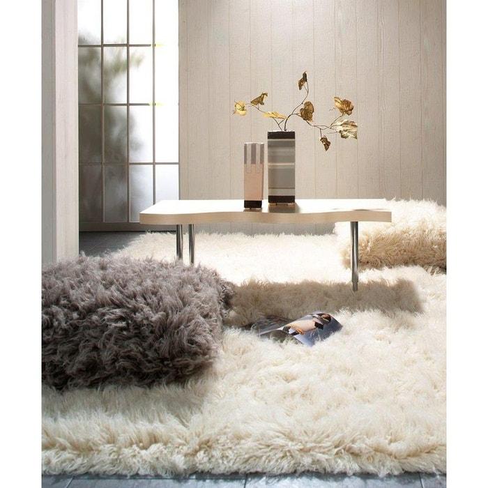 tapis flokati super 24 natural theko la redoute. Black Bedroom Furniture Sets. Home Design Ideas