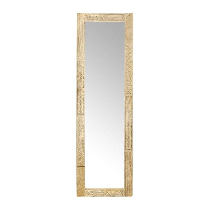 miroir puro 180x56cm kare design bois kare design la redoute