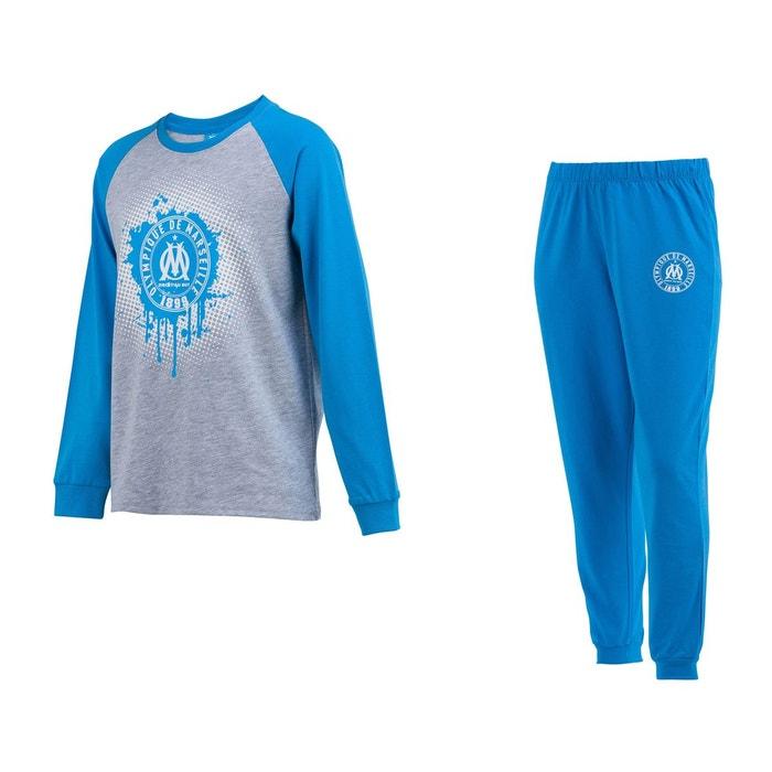 f104ed748621a Pyjama om bleu gris junior bleu Made In Sport