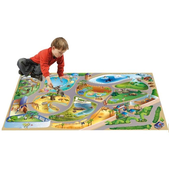 tapis connecte zoo tapis enfants par house of kids. Black Bedroom Furniture Sets. Home Design Ideas